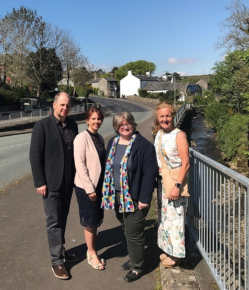 Trudy Harrison meets with Floods Minister, Therese Coffey and local flood action groups