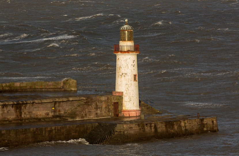 Celebration as Whitehaven lighthouse repair project gets the green light