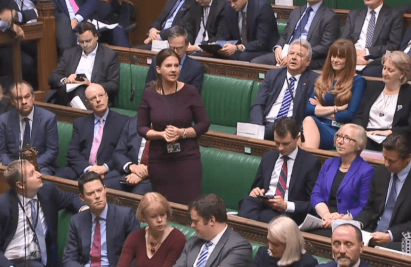 Copeland MP condemns rail union strike action in PMQs