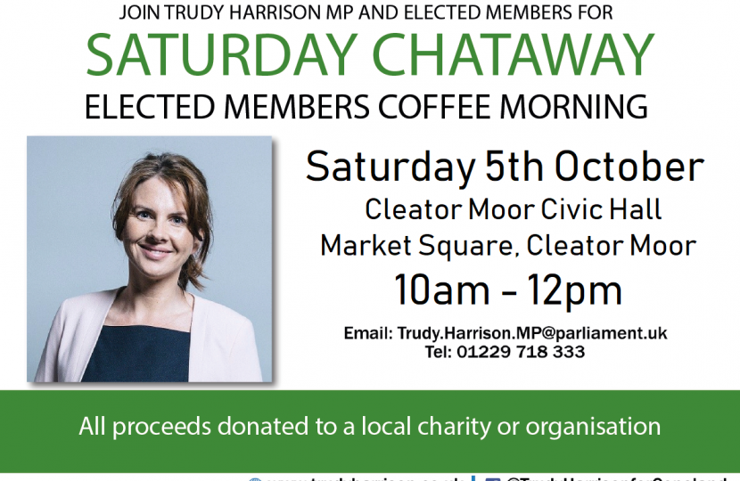 Saturday Chataway in Cleator Moor