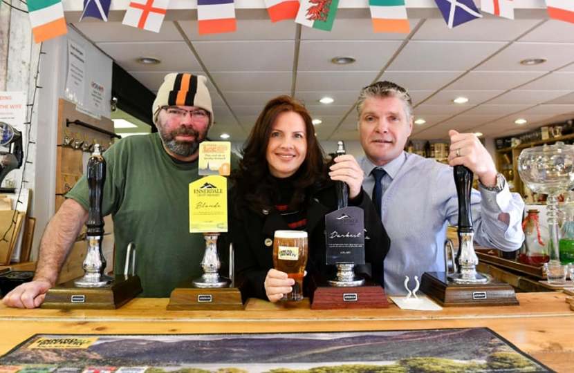 MP welcomes reopening of Cumbria's food and drink industry