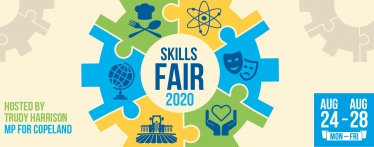 Skills Fair 2020 – brought to you by Trudy Harrison, MP for Copeland.